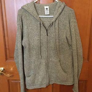 Columbia zip sweater